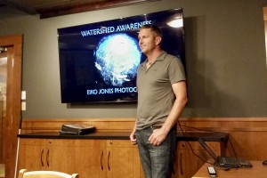 Watershed awareness talk to Cape Lazo Power Squadron