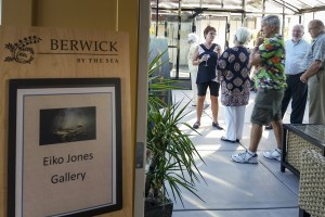 Art Exhibition at Berwick By The Sea retirement home.