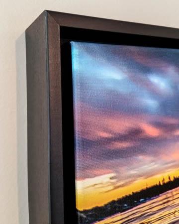 Float Frame on Canvas image