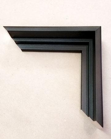 Float frame corner sample