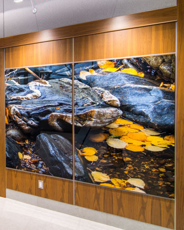 Large Aluminum panel image