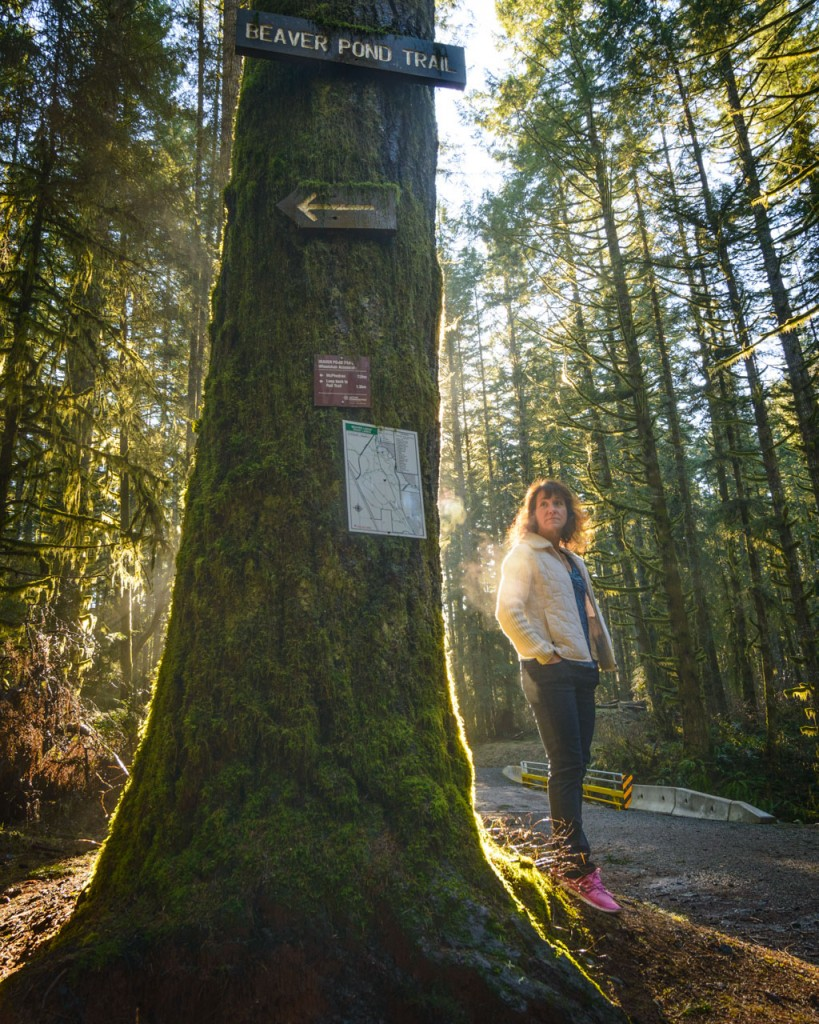 beaver trail volunteer sandra milligan