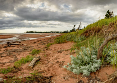Sandy beach on PEI, Canada