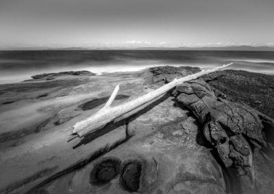 Hornby Island rocky beach