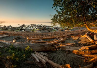 Sunrise on Hornby Island