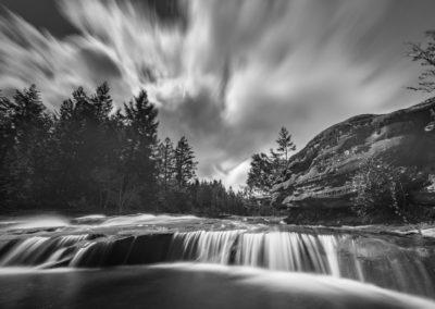 Puntledge river falls