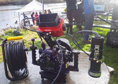 SDI Tethered underwater camera