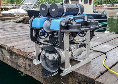 ROV with custom housing for Z Cam E2-S6 cinema camera